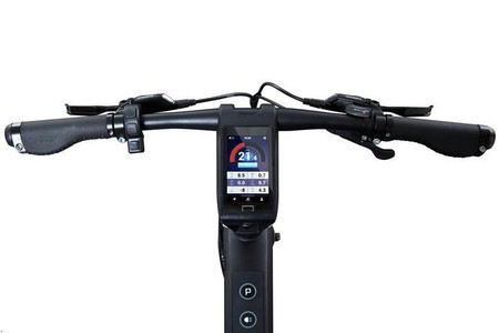 e-bike Cybic E-Legend display