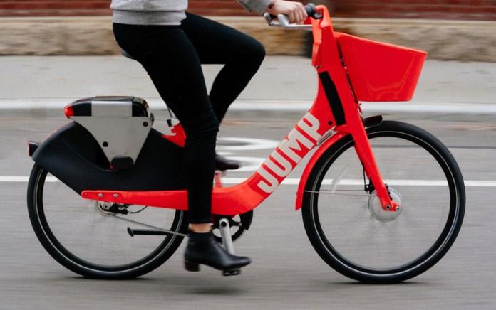 Jump, bicicleta de Uber