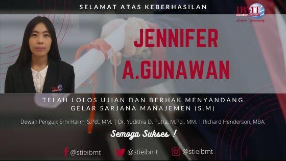 Banner Blog Ucapan Selamat Jennifer