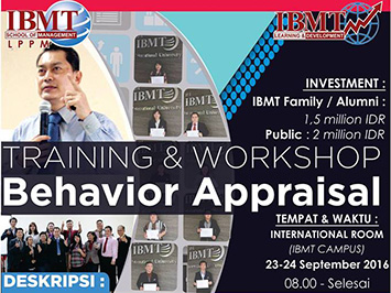 Behavior Apprasial