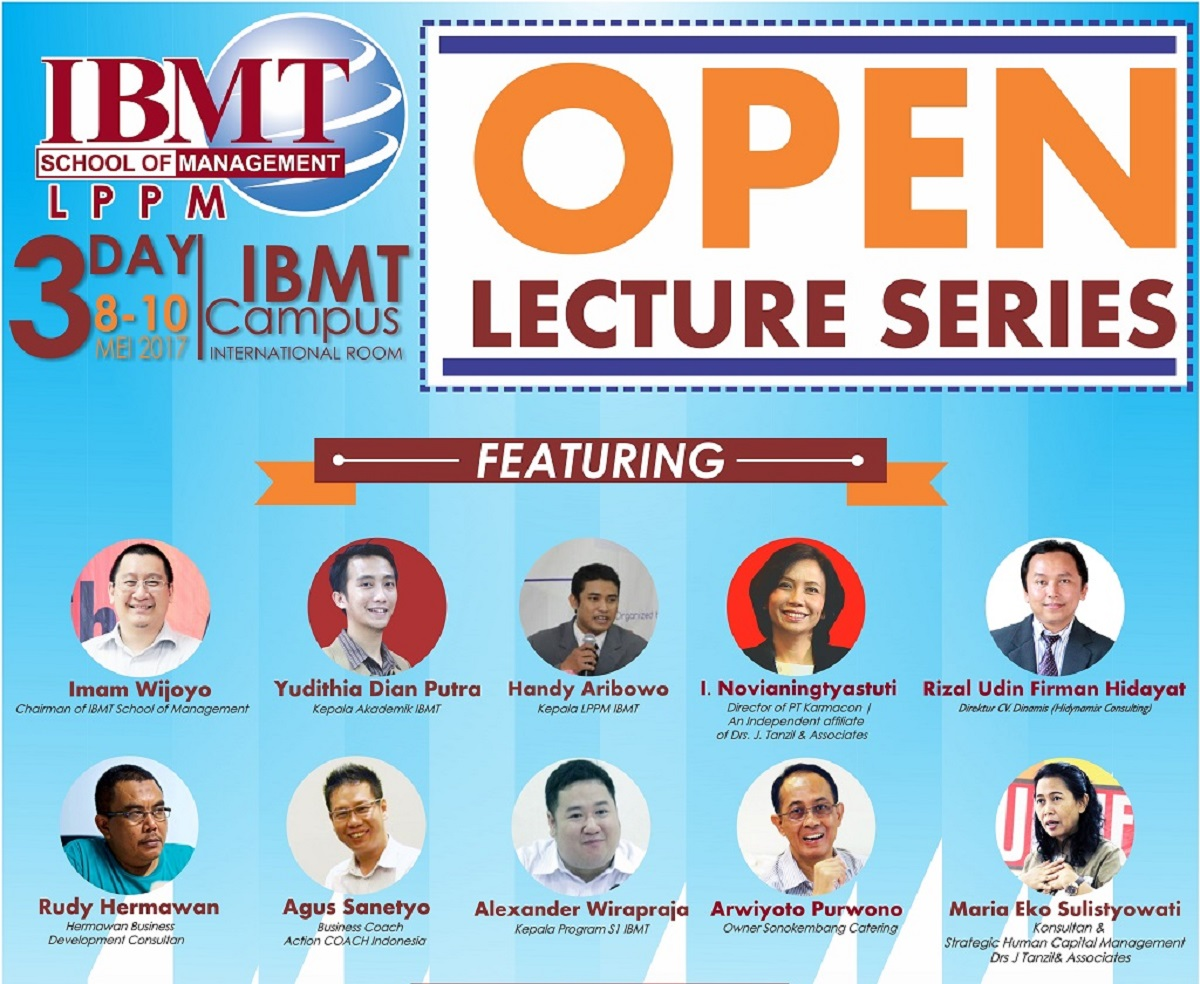 Open Lecture Series 2017