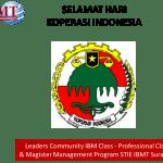 Selamat Hari Koperasi Indonesia