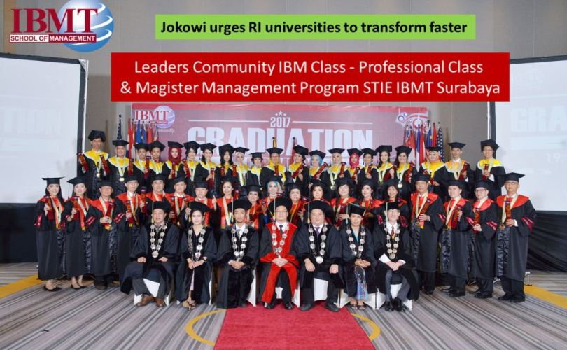 Jokowi urges RI universities to transform faster