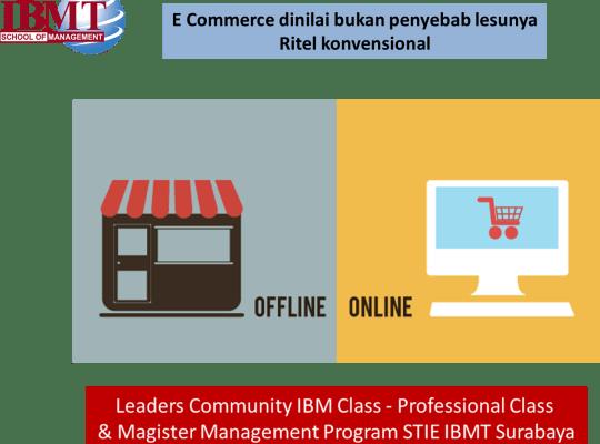 E-commerce Dinilai Bukan Penyebab Lesunya Ritel Konvensional
