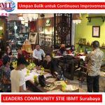 Umpan Balik untuk Continuous Improvement