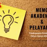 Memo Pelaksanaan Pembelajaran Tahun Ajaran 2019/2020