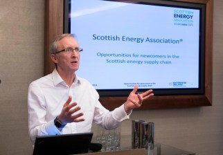 Enterprise Ireland Trade Mission to Scotland , Sheraton Hotel, Edinburgh - picture shows Hector Grant, Ch Executive, Scottish Energy Association - picture by Donald MacLeod - 08.11.16 - 07702 319 738 - clanmacleod@btinternet.com - www.donald-macleod.com