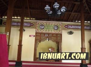 contoh dekorasi kaligrafi masjid