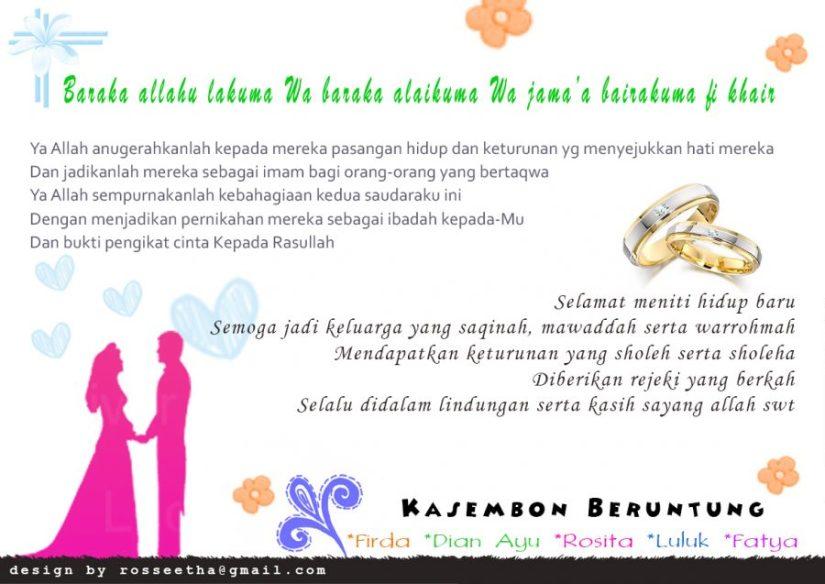 Ucapan Pernikahan Bahasa Sunda Lucu Nusagates Cute766