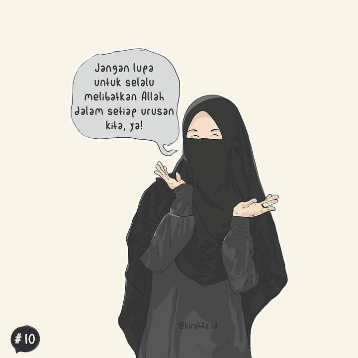 7300 Gambar Kartun Muslimah Keren Terbaru HD Terbaik