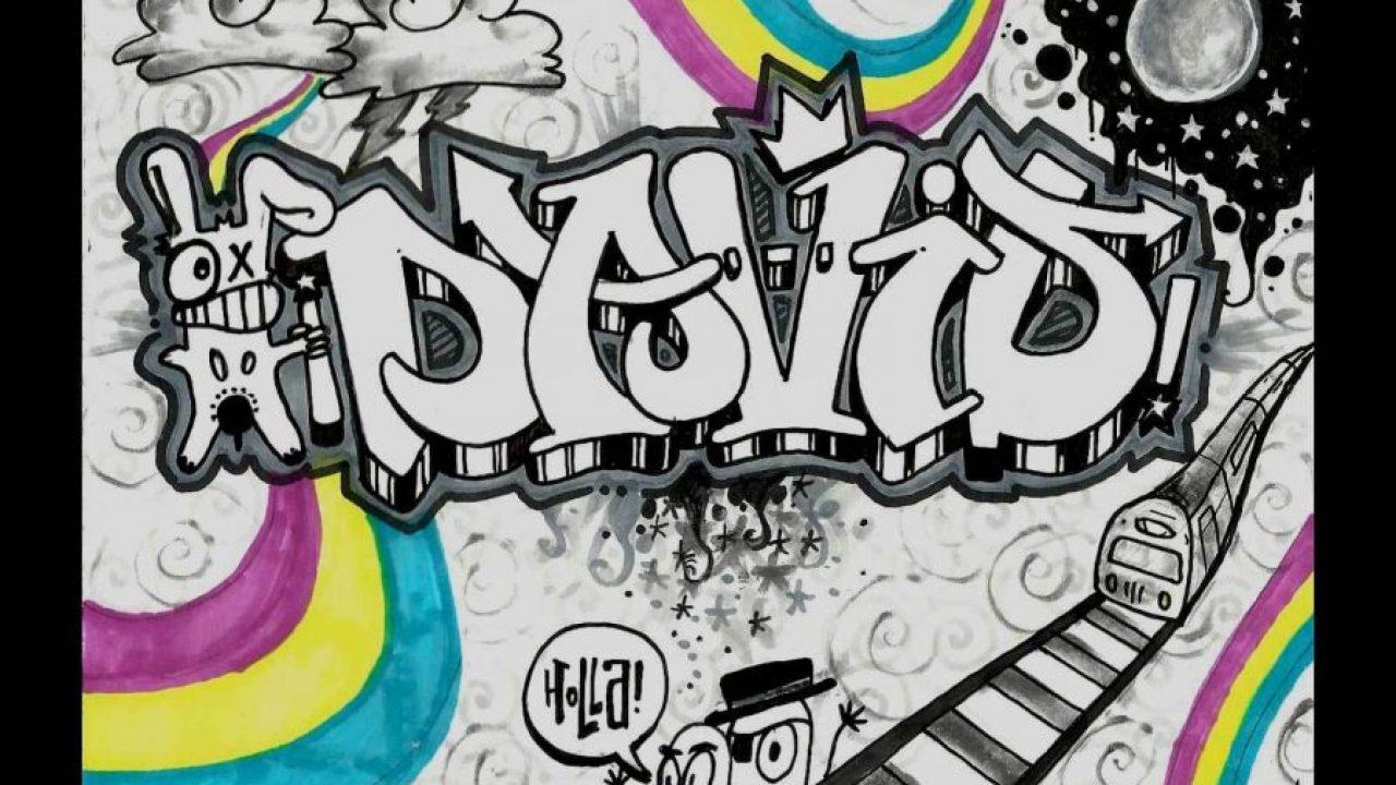 √ Gambar Grafiti Nama Keren [ 100] Tutorial Mudah Membuat