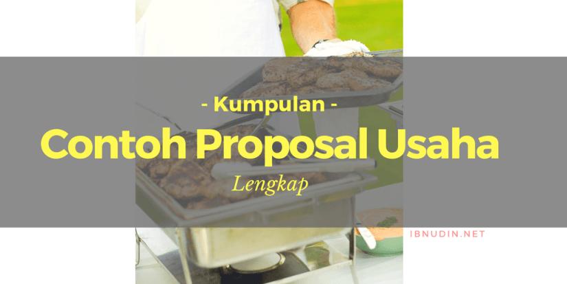contoh proposal usaha lengkap