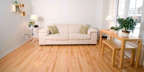 penggunaan lantai parket
