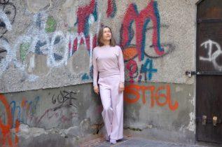 Marlenehose pink