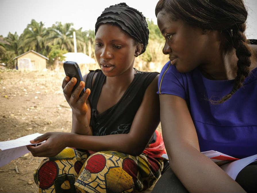 アフリカ スマートフォン普及