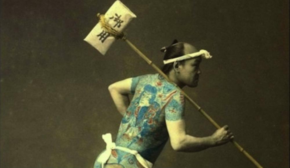 飛脚 昔の日本人