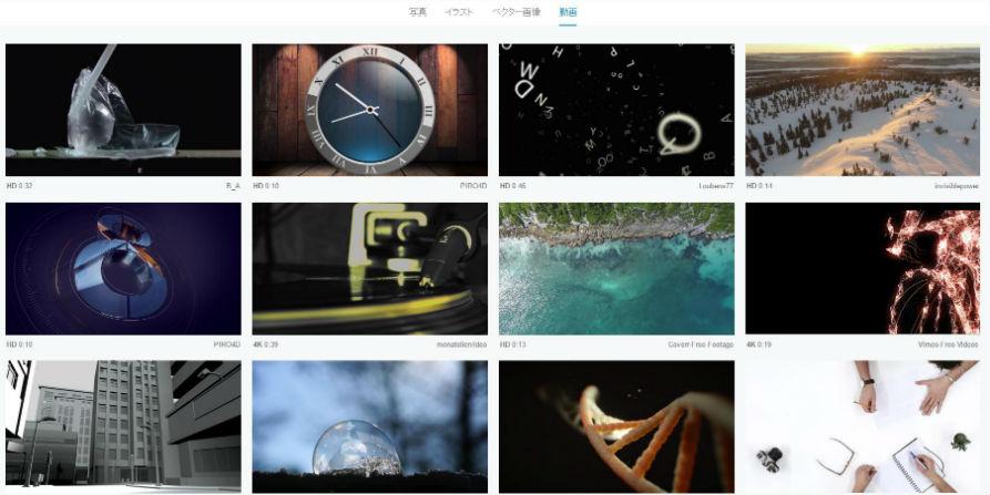 著作権フリー画像&動画の見つけ方
