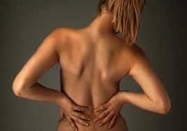 Rugpijn, nekklachten, pijn in onderrug en bil
