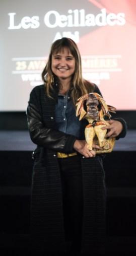 Olivia Baum, réalisatrice de Auguste, Prix du Jury Jeunes (court-métrage)