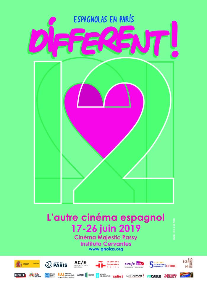 Dífferent! L'autre cinéma espagnol 2019, 12e édition