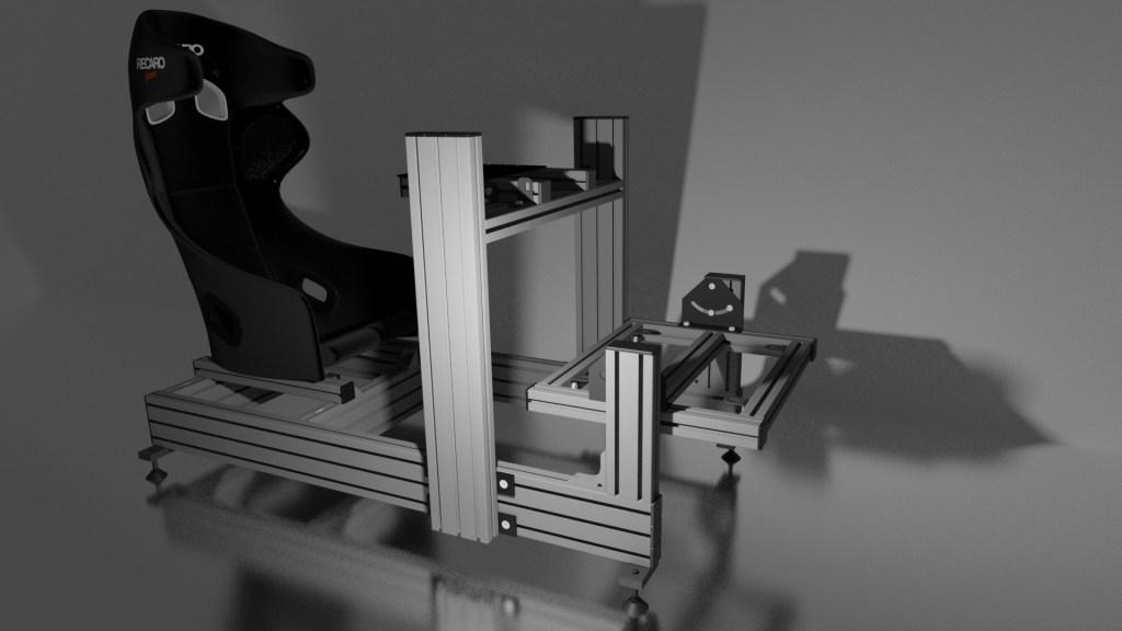 Cockpit SimRacing Aluminio
