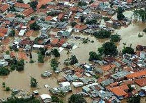 FOTO Banjir di Kendari 14 Mei 2017