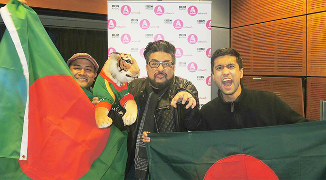 Shaful Islam, Bobby Friction and Ibrahim Rahman