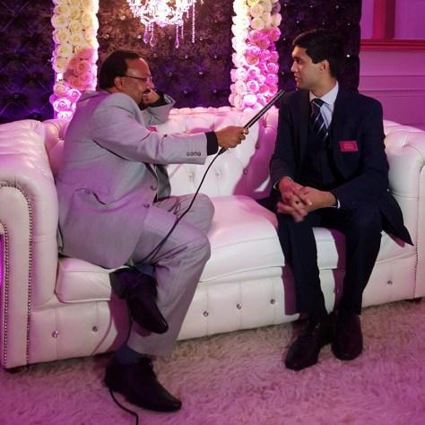 Ibrahim is interviewed by Zakir Khan