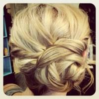 rope braid bun   sarah's place for long hair