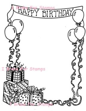 Birthday Party Frame
