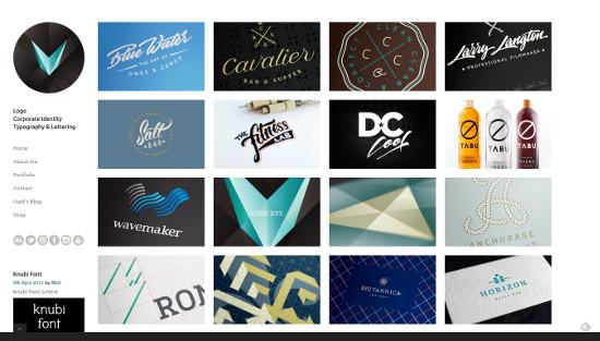 Sitios Web de diseñadores de logo