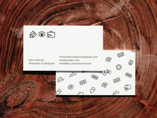 Kevin Moran's Business Card