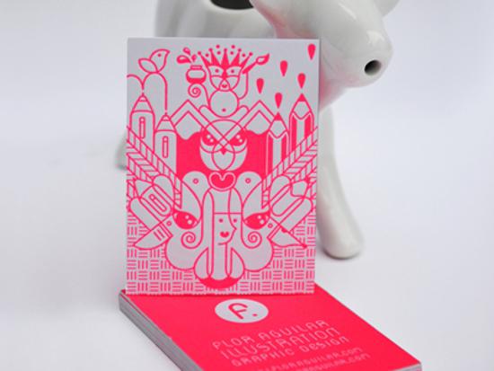 Flor Aguilar's Business Card