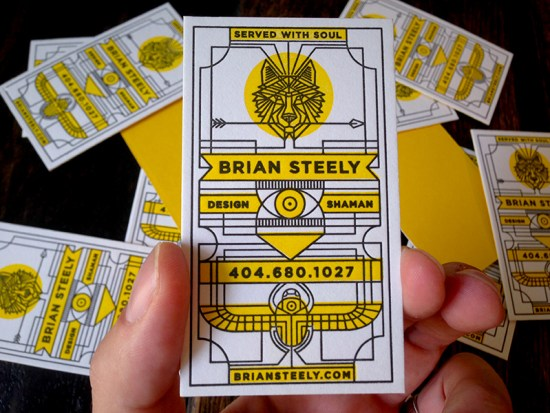 Brian Steely's Business Card