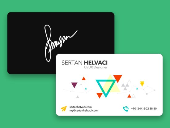 Sertan Helvacı's Business Card