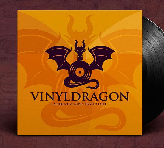Dragon Music Logo by Alberto Bernabe