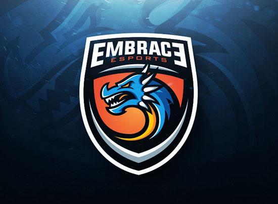Dragon Sports Logo Illustration by Derrick Stratton