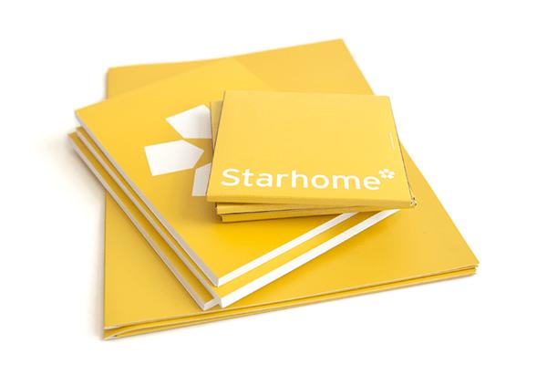 Ejemplos de marketing de impresión - Starhome