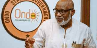 Akeredolu to Wike: Steer clear of Ondo October 10 governorship election