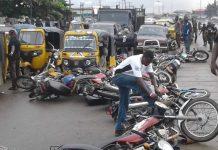 okada riders and thugs blocked