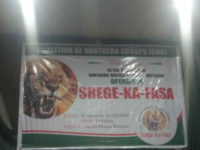 Operation Shege Ka Fasa: North launches regional security outfit