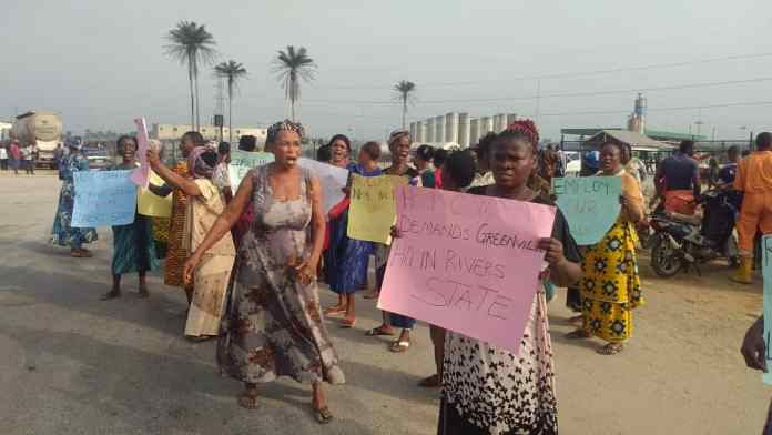 HAPPENING NOW: Rivers community shuts down Greenville/LNG over marginalization