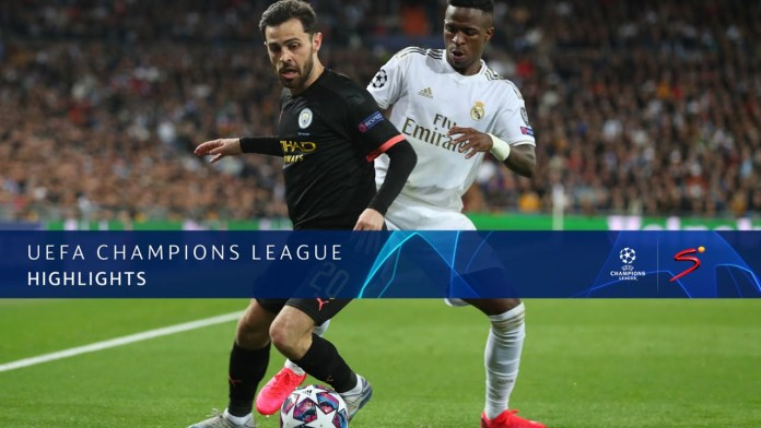 Image result for UEFA Champions League | R Madrid v Man City | Highlights