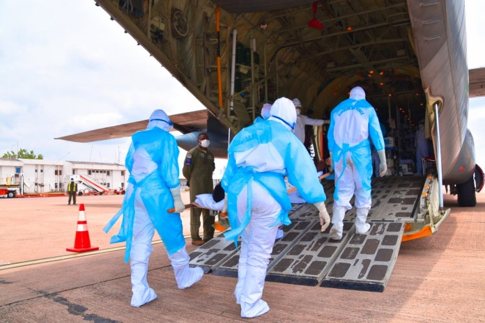 COVID 19: Airforce configures C-130 aircraft for Aeromedical Evacuation, trains flight nurses