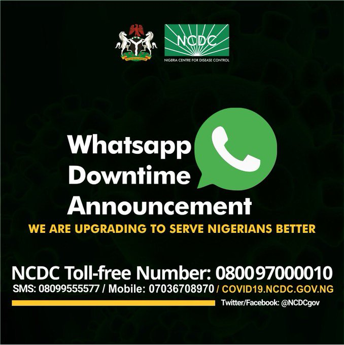 You Can Now Text The NCDC On Whatsapp And Here's What You Should ...