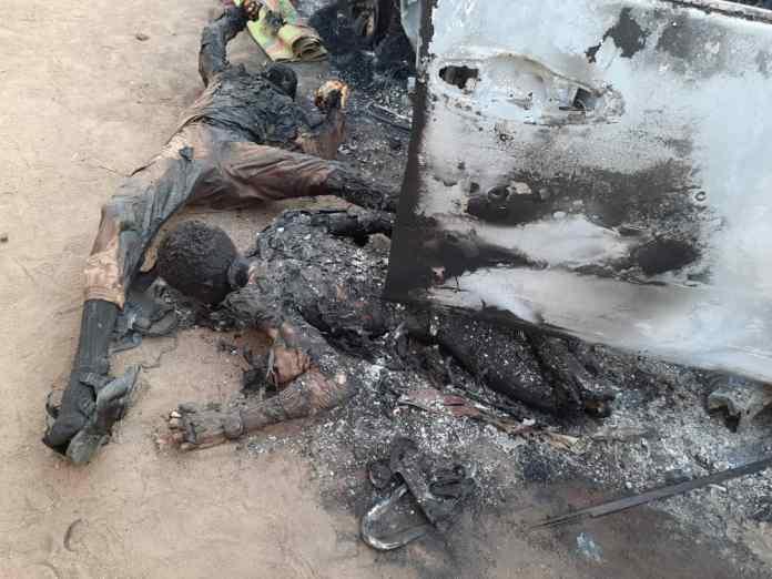 Bodies of terrorists destroyed