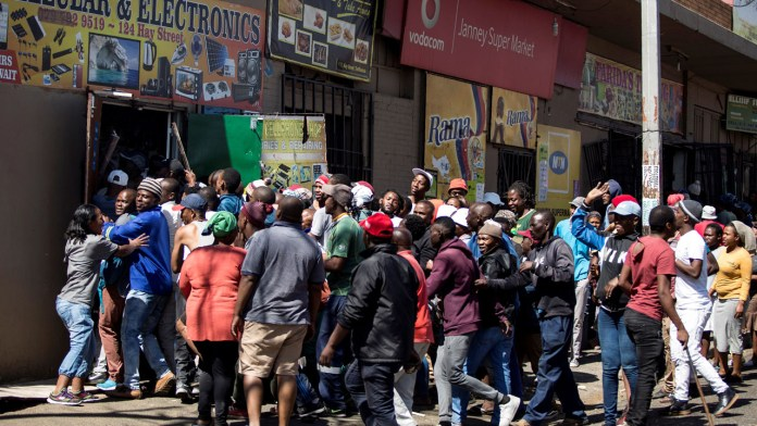 Scores arrested in South Africa looting, anti-foreigner protests ...