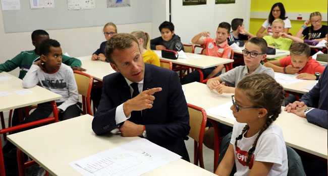 French schools record 70 new COVID-19 cases one week after reopening