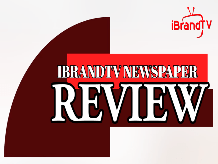 Allnews Nigeria brings you compilations and roundup of the top Nigeriannewspaperheadlines online for today on. iBrandTV.