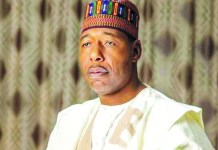 Borno suspends daily media briefing on COVID-19 impromptu